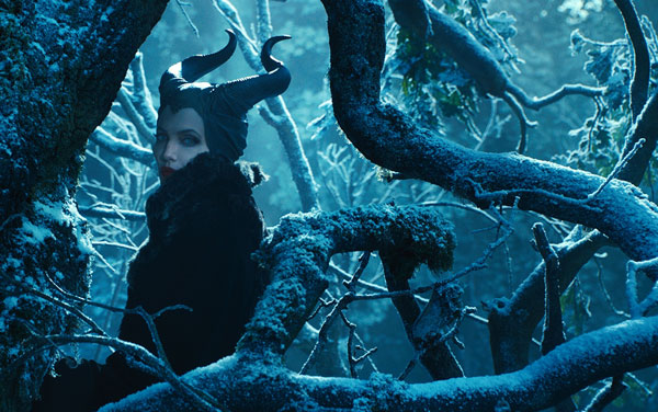"This image released by Disney shows Angelina Jolie in a scene from ""Maleficent."" (AP Photo/Disney)"