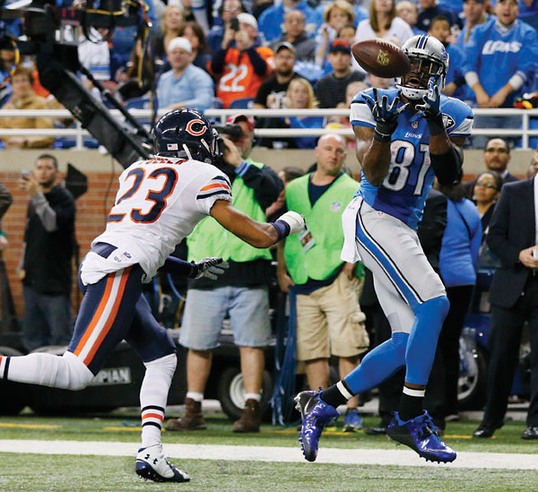 Megatron shines in Detroit's 34-17 win over Chicago