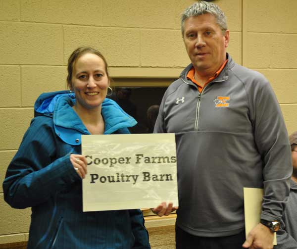 Cooper Farms to name poultry barn