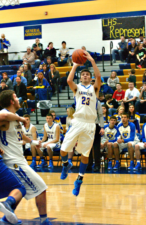 Dowdy, Ludwig lead Lancers past Mustangs