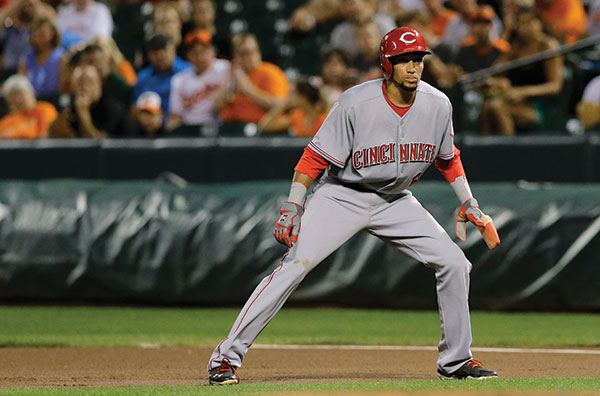 Reds' Billy Hamilton getting stronger for encore season