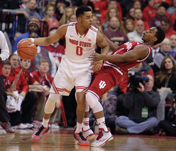 Russell helps OSU upset Indiana 82-70