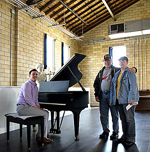 Art center receives baby grand piano