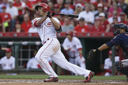 Reds get up by 8 runs, hold on for 11-7 win over Twins