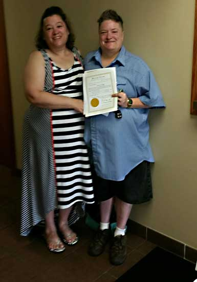 Van Wert County issues first same-sex marriage license