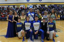 Lincolnview Homecoming royalty