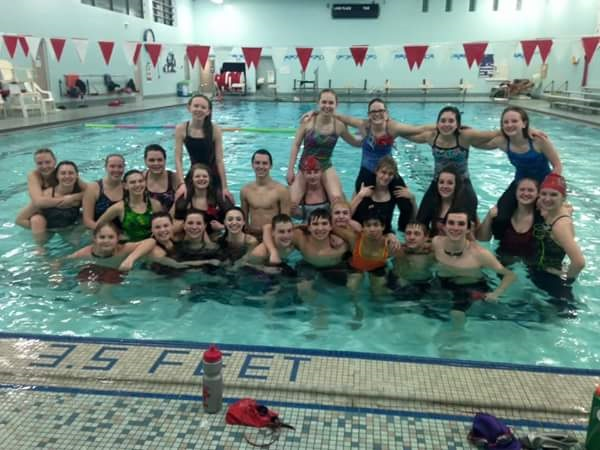 Cougars swim at sectionals times bulletin for Eastwood high school swimming pool