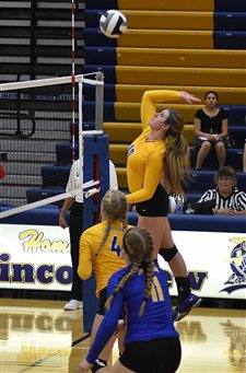Lady Lancers sweep Perry, advance