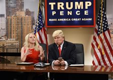 Trump on the attack against 'SNL' again
