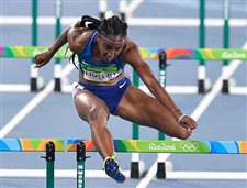 Olympic hurdles champion banned for whereabouts mix-up