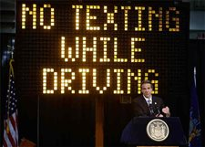 New York eyes device to bust texting drivers