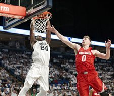 Carr, Watkins lead Penn State over No. 8 Ohio State