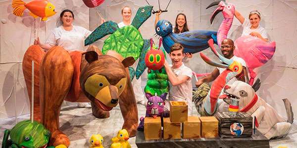 The Very Hungry Caterpillar will come to life on the NPAC stage on Sunday, March 10. (Photo submitted)