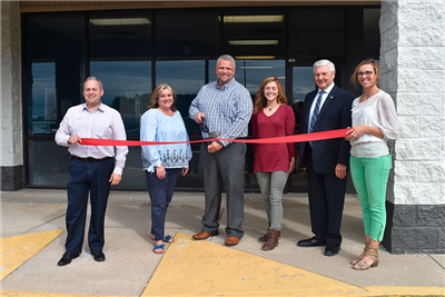 Pinnacle Treatment Center celebrated a ribbon cutting with the Chamber of Commerce on Wednesday. (DHI Media/Kirsten Barnhart)
